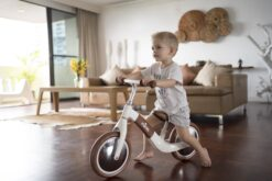 Mima Zoom Balance Bike in White Camel for Toddlers