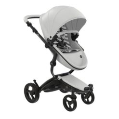 Mima Xari Black and White Stroller