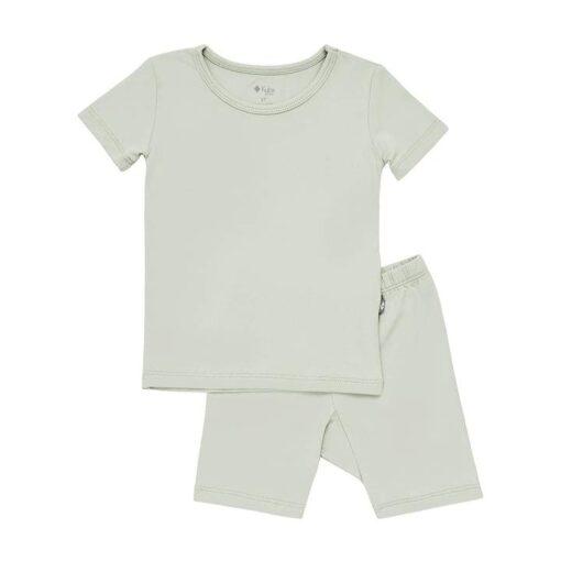 Kyte BABY Short Sleeve Toddler Pajama Set in Sunset