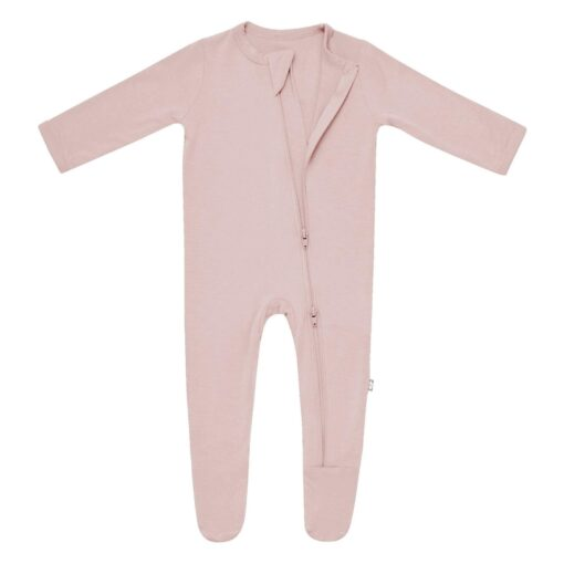 Kyte BABY Zippered Footie in Sunset