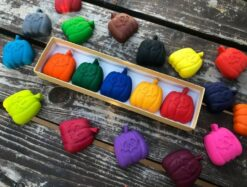 KagesKrayons Halloween Pumpkin Crayons Box