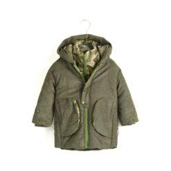 Aimama Army Green Puffer Jacket