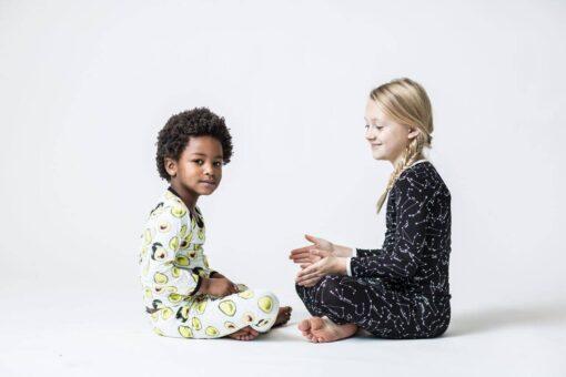 Peregrine Kidswear Avocado Bamboo Two-Piece Pajama Set
