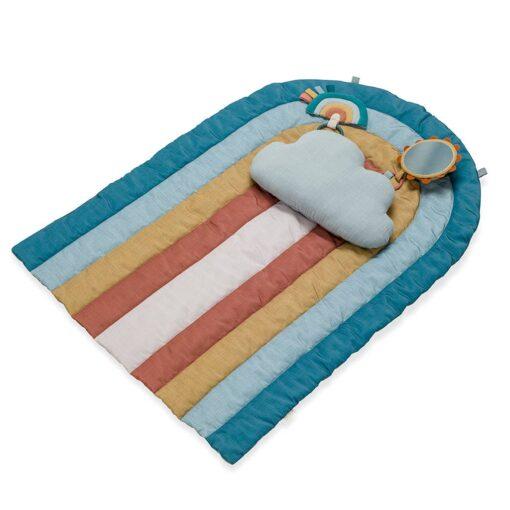 Itzy Ritzy Tummy Time Rainbow Play Mat