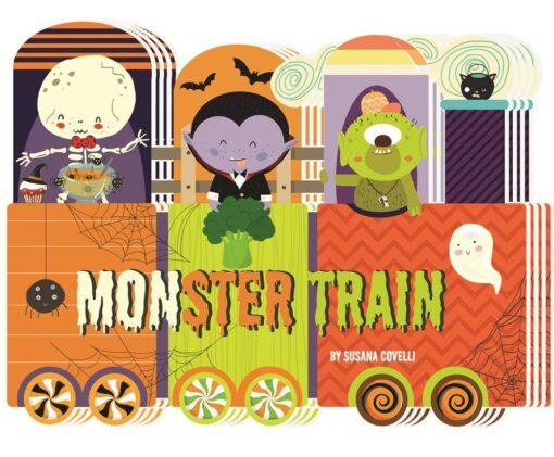 Monster Train Board Book
