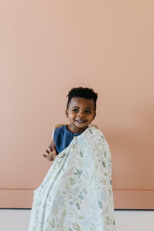 Copper Pearl Rex Knit Blanket Swaddle