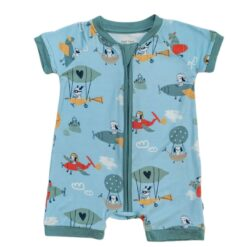 Little Sleepies Fly Away With Me Shorty Bamboo Viscose Zippy