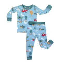 Little Sleepies Fly Away With Me Two-Piece Bamboo Viscose Pajama Set