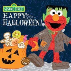 Sesame Street Happy Halloween Book