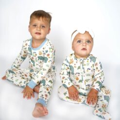 Bamboo Manatee Pajama Set from Emerson and Friends
