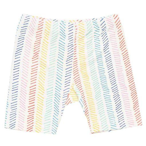 Kyte BABY Short Sleeve Toddler Pajama Set in Herringbone