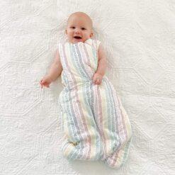Kyte BABY Sleep Bag in Herringbone 1.0 TOG