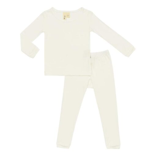 Kyte BABY Toddler Pajama Set in Cloud