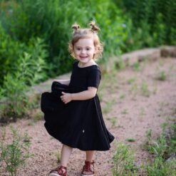 Kyte BABY Twirl Dress in Midnight
