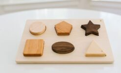Bannor Toys Chunky Wooden Shape Puzzle