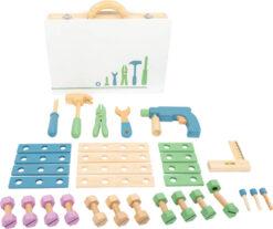 Legler Toys Nordic Theme Tool Box Playset