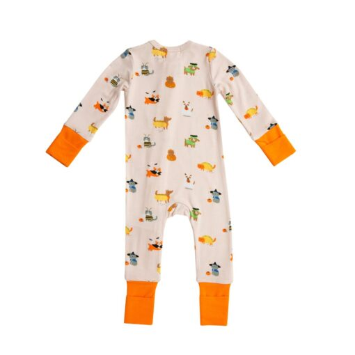 Angel Dear Costumed Dogs and Cats Bamboo Viscose Zippered Romper