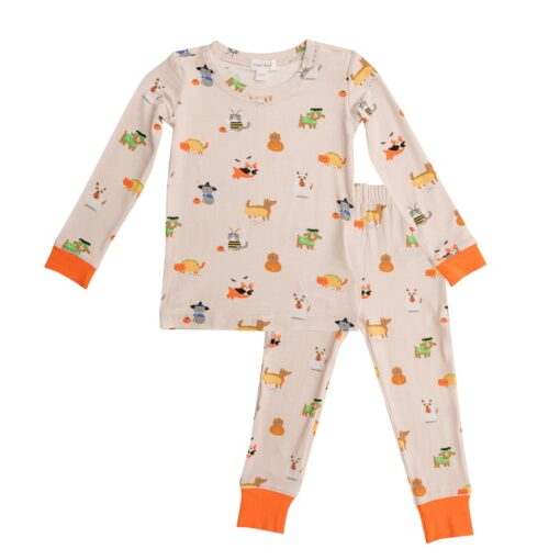 Angel Dear Costumed Dogs and Cats Bamboo Viscose Lounge Wear Set