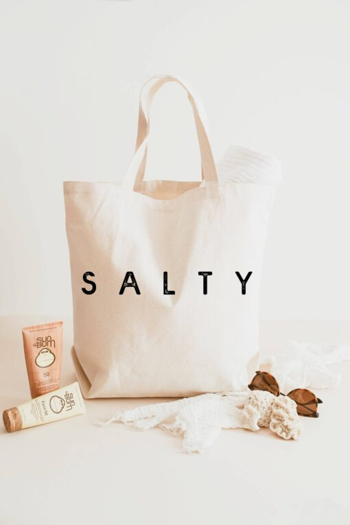 Love You a Latte Shop Salty XL Tote Bag