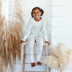 goumi Coastal Bamboo Kid's Loungewear Set