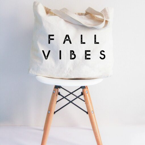 Love You a Latte Shop Fall Vibes Tote Bag