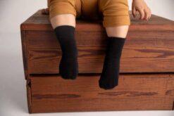 Squid Socks Coal Collection Black Bamboo Socks 3 Pack