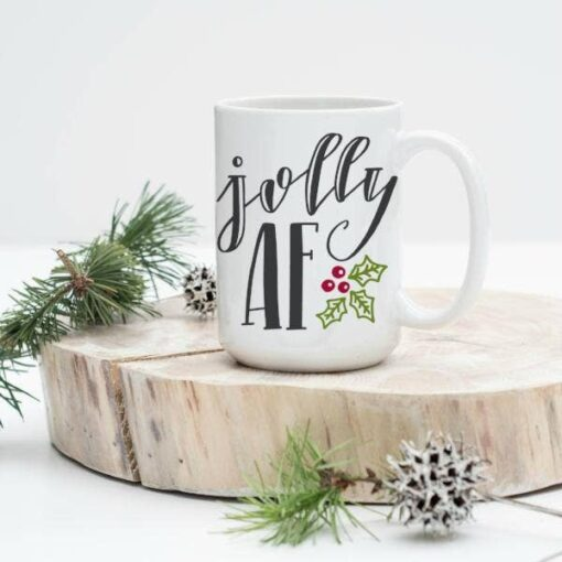 Love You a Latte Shop Jolly AF Coffee Mug