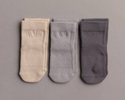 Squid Socks Classic Collection Neutral Bamboo Socks 3 Pack