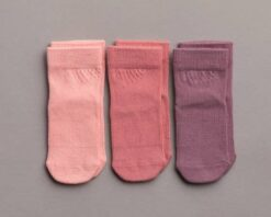 Squid Socks Cami Collection Pink Bamboo Socks 3 Pack