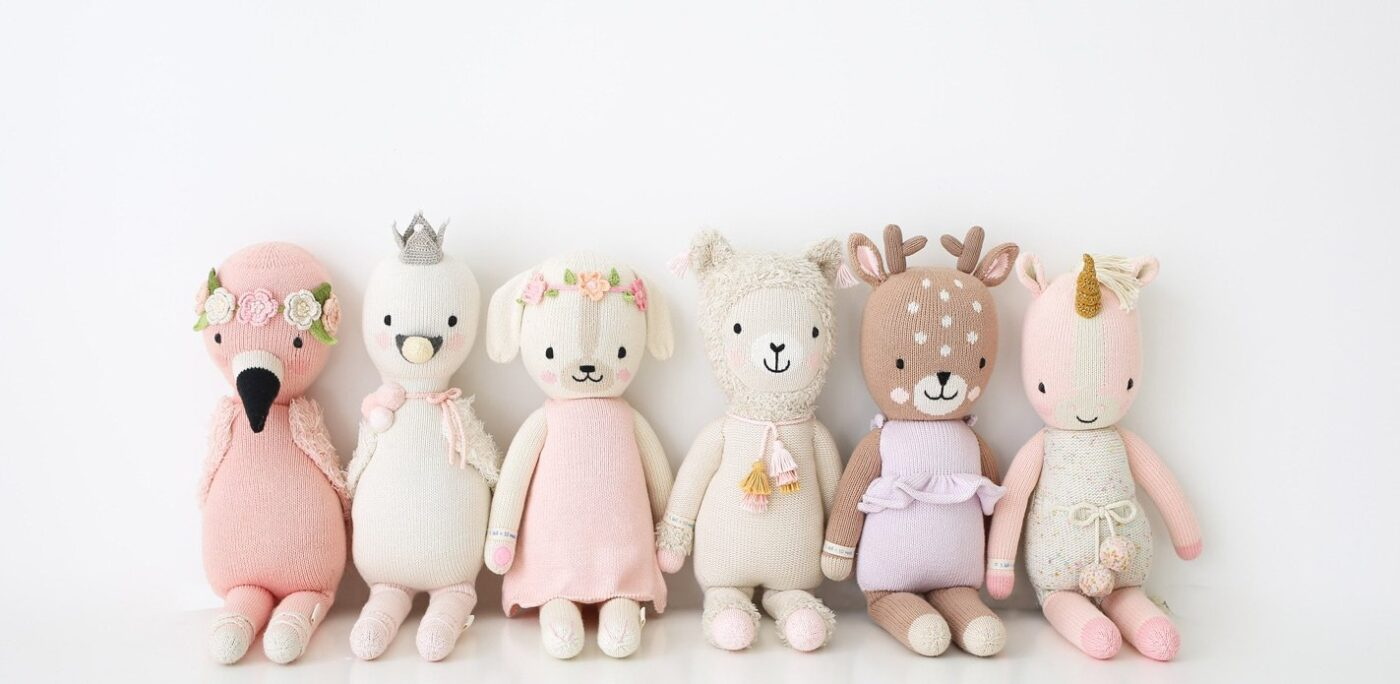 cuddle+kind dolls available at Blossom now!