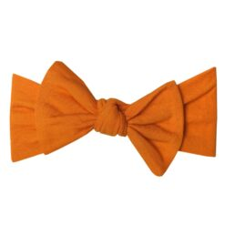 Copper Pearl Blaze Knit Headband Bow