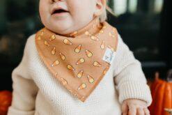 Copper Pearl Trick Baby Bandana Bib Set 4-Pack