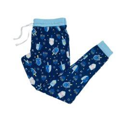 Little Sleepies Dancing Dreidels Women's Bamboo Viscose Pajama Pants