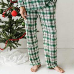 Little Sleepies Noel Plaid Men's Bamboo Pajama Pants