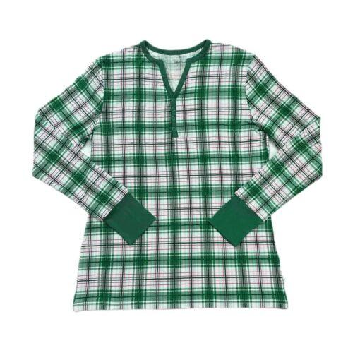 Little Sleepies Noel Plaid Women's Long-Sleeve Bamboo Viscose Pajama Top