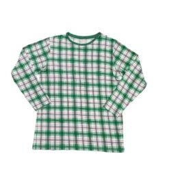 Little Sleepies Noel Plaid Men's Long Sleeve Bamboo Pajama Top