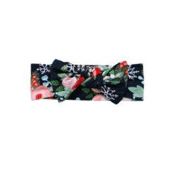Little Sleepies Poinsettia Floral Bamboo Viscose Headband