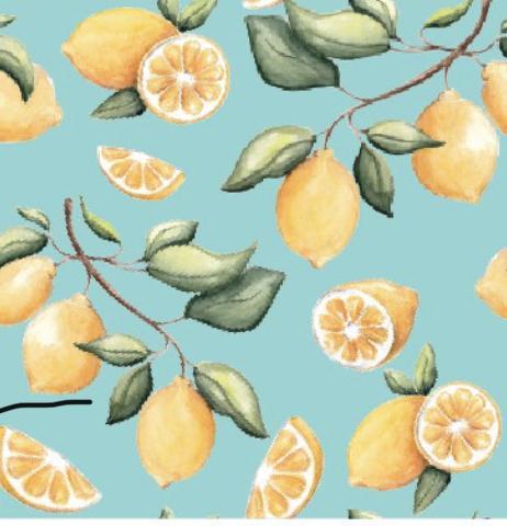 CuteCotton Lemon Squeezy Ruffle Bamboo Viscose Convertible Zippered Footie