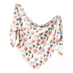 Copper Pearl Trick Knit Swaddle Blanket