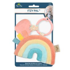 Itzy Ritzy Rainbow Itzy Pal Plushy + Teether