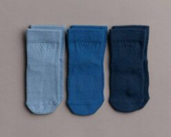 Squid Socks Colby Collection Blue Bamboo Socks 3 Pack
