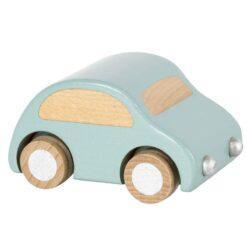 Maileg Wooden Car in Light Blue