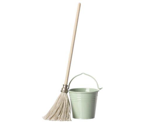 Maileg Bucket & Mop Set
