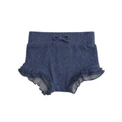 Angel Dear Denim High Waist Bummie Shorts