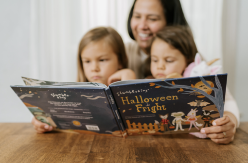 Slumberkins Halloween Fright Hardcover Book