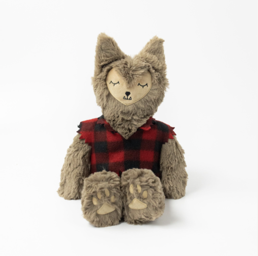 Slumberkins Werewolf Fox Kin and Spider Mini Halloween Limited Edition Bundle