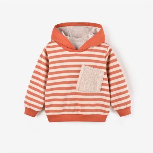 Aimama Robert Striped Hooded Sweatshirt
