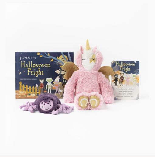 Slumberkins Pegasus Kin and Spider Mini Halloween Limited Edition Bundle