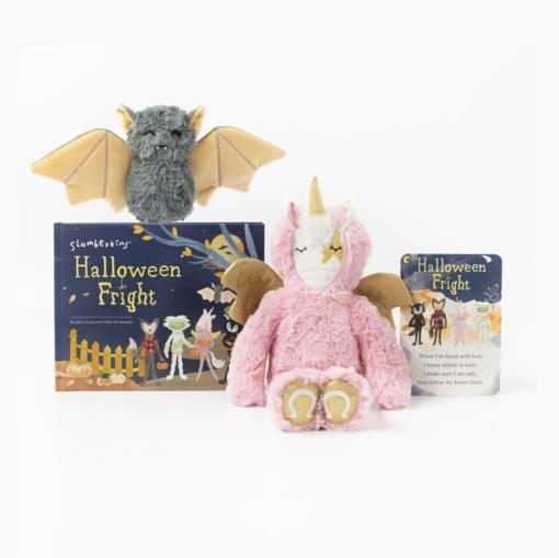 Slumberkins Pegasus Kin and Bat Mini Halloween Limited Edition Bundle
