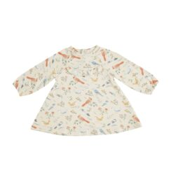 Angel Dear American Birds Ruffle Yoke Dress and Leggings Bamboo Set